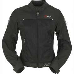 Furygan Genesis Mistral Evo Jacket Ladies - Black