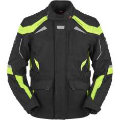 Furygan WR-16 HV WP Jacket - Black Yellow
