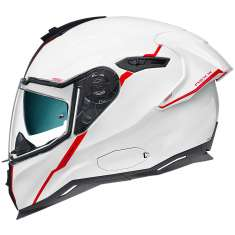 Nexx SX.100R Helmet Short Cut - White Red