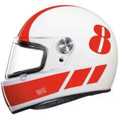 Nexx XG100R Racer Billy B Helmet - White Red