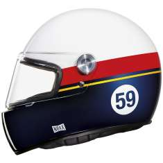 Nexx XG100R Racer Grandwin Helmet - White Blue Red