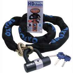 Oxford HD Heavy Duty Padlock and Chain