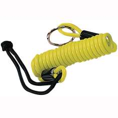 Oxford Lock Reminder Cable - Yellow/Black