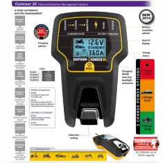 Oxford Oximiser Battery Optimiser 3x - Aus/NZ
