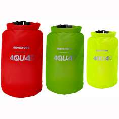 Oxford Aqua D Waterproof Roll Bags 3 Pack - 5L 7L 12L