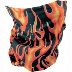Zan Headgear Summer Motley Neck Tube - Classic Flame