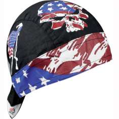 Zan Headgear Flydanna Hat Bandana - Vintage Patriot