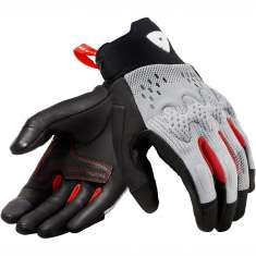 Rev It! Kinetic Gloves - Light Grey Black