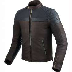 Rev It! Fargo Leather Jacket - Brown
