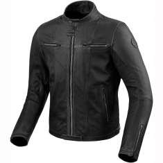 Rev It! Roswell Leather Jacket - Black