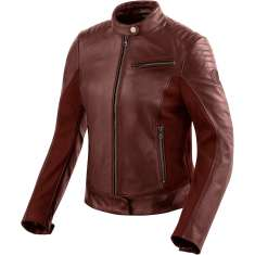 Rev It! Clare Leather Jacket Ladies - Red
