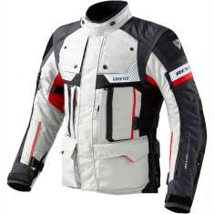 Rev It! Defender Pro Jacket GTX - White Black Red