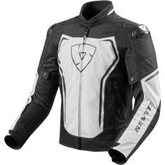 Rev It! Vertex Jacket - White Black
