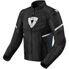 Rev It! Arc Jacket Mens WP - Black White