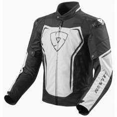 Rev It! Vertex TL Jacket - White Black