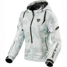 Rev It! Flare 2 H2O Jacket Ladies WP - Camo Grey White