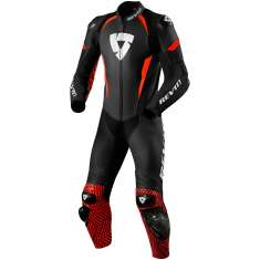Rev It! Triton Leather Suit 1PC Air - Black Red