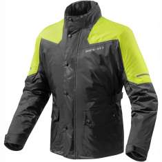 Rev'It! Nitric 2 H2O Rain Jacket WP - Black Yellow
