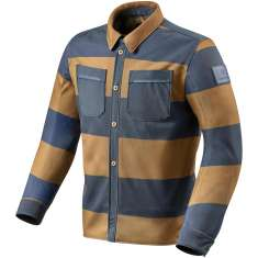 Rev It! Tracer Overshirt Air - Tan Blue