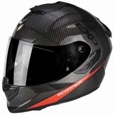 Scorpion Exo-1400 Air Carbon Pure Helmet - Grey Red