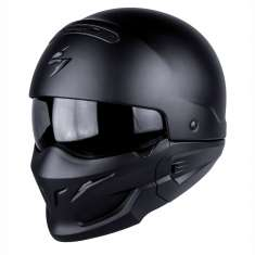 Scorpion Exo Combat Helmet - Matt Black