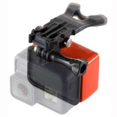 GoPro Bite Mount + Floaty - Black Orange