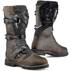 Best waterproof motorcycle boots - tcx-drifter-boots-wp-brown-black