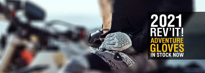2021 Rev'It! Adventure Gloves »